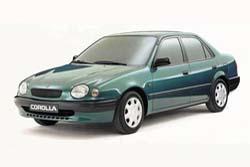 Стекло на Toyota Corolla E110 1995 - 2001 Sedan