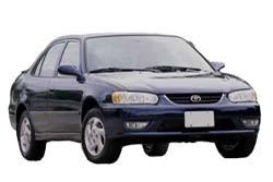 Стекло на Toyota Corolla E110 (USA) 1998 - 2002