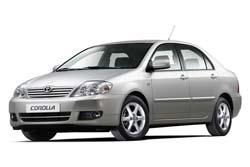 Стекло на Toyota Corolla E120;130 2002 - 2006 Sedan