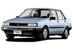Стекло на Toyota Corolla E80 1983 - 1987 Sedan