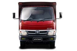 Стекло на Toyota Dyna PU 2001 -