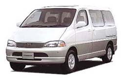 Стекло на Toyota Hi-Ace XH10;Granvia 1995 - 2008