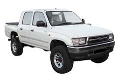 Стекло на Toyota Hi-Lux 1997 - 2005