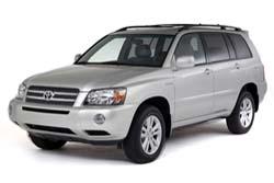 Стекло на Toyota Highlander 2001 - 2007
