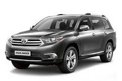 Стекло на Toyota Highlander 2008-2013