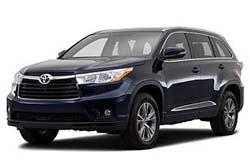 Стекло на Toyota Highlander 2014 -
