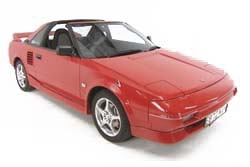 Стекло на Toyota MR-2 1984 - 1989