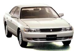 Стекло на Toyota Mark II RX100;Chaser 1996-2000 Sedan