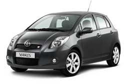 Стекло на Toyota Yaris XP9 2005 - 2011