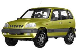 Стекло на VAZ 2123 (Chevrolet Niva) 2002 -