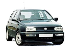 Стекло на VW Golf 1991 - 1997 Hatch