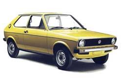 Стекло на VW Polo 1975 - 1981 Hatch
