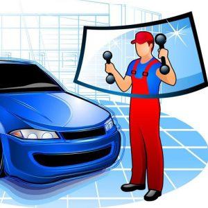 Установка / монтаж / замена лобового стекла на авто